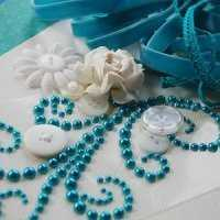 Flourish With A Bling Pearls