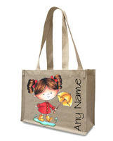 Natural Tote Shopper Bags