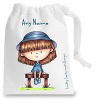 Small  Cotton Goody Bags