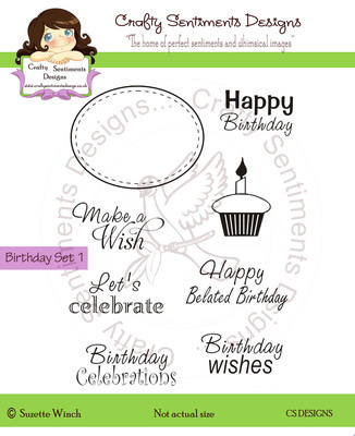 Birthday Sentiments Set1