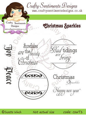Christmas Sparkles Sentiment Sets