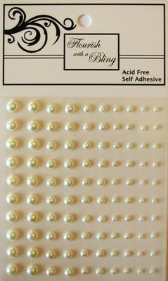 Adhesive Pearls 100 Pack Pearl (Out of Stock)