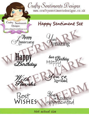 Happy Sentiments Set