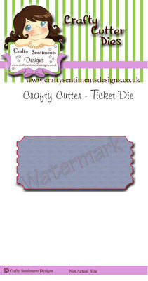Crafty Cutter - Ticket Die (4 available in this offer)