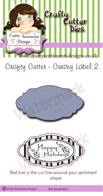 Curvey Label 2 (4 avaiable in this offer)