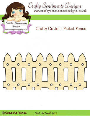 Crafty Cutter - Picket Fence (2 available with this offer)