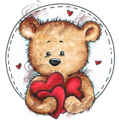 Bundle of Hearts (Digital Stamp)