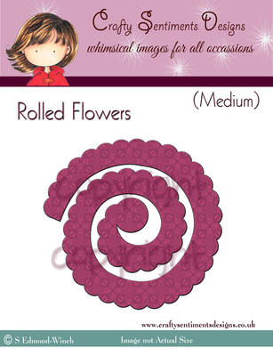 Rolled Flowers (Medium)