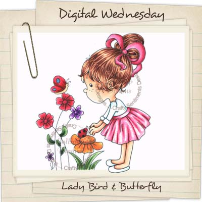 Lady Bird & Butterfly