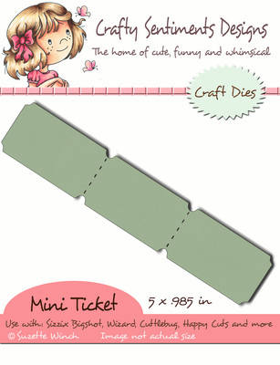 3 Mini Ticket  set