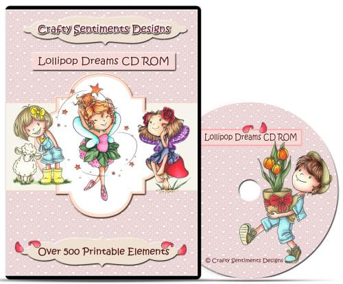 Lollipop Dreams CD ROM
