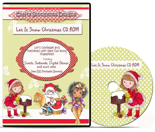 Let it Snow Christmas CD ROM