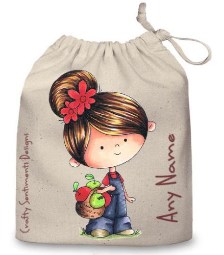Small Cotton Bag - Cream 2