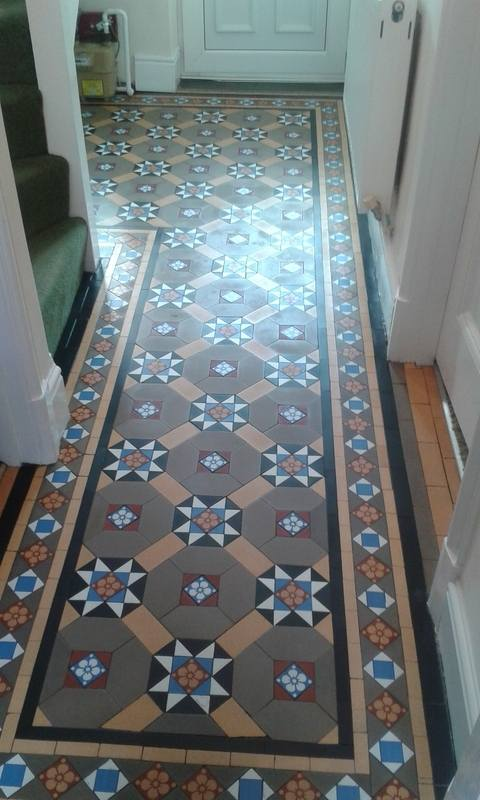 100+ Year Old Victorian Floor-swanseacarpetcleaning.co.uk