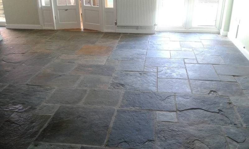 slate floor-www.swanseacarpetcleaning.co.uk