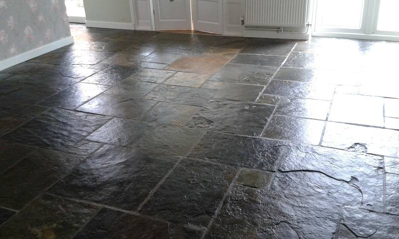 slate floor sealed-swanseacarpetcleaning.co.uk