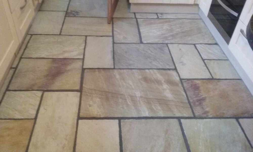 Sandstone Tiles - Swansea Carpet Cleaning