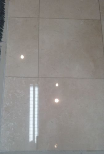 Marble after diamond polishing - swanseacarpetcleaning.co.uk