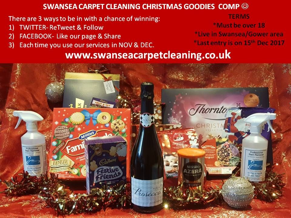 Christmas 2017 Prize Draw-Swansea Carpet Cleaning 2