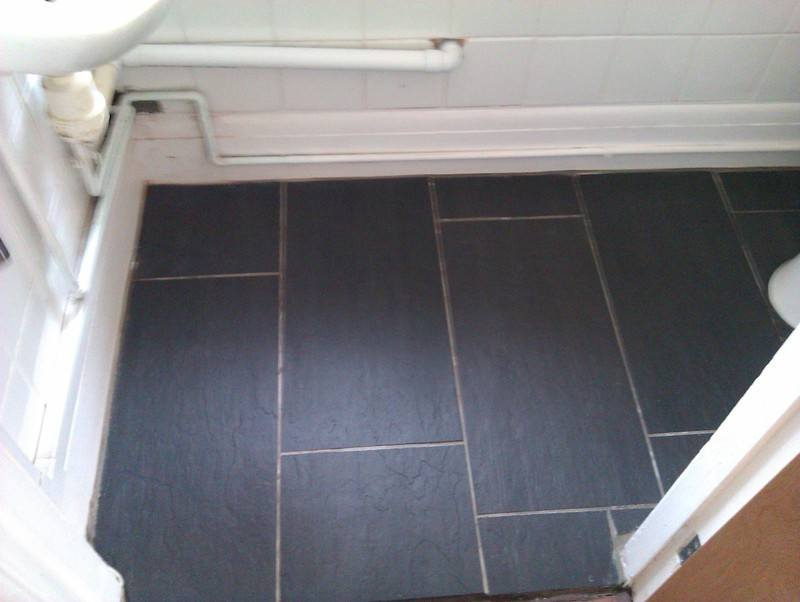 Slate sealed by Swansea Carpet Cleaning