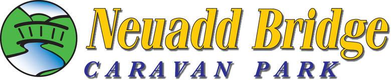 Neuadd  Bridge Caravan Park, site logo.