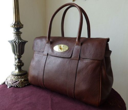 Mulberry Bayswater Special in Cognac Handboarded Goat Leather