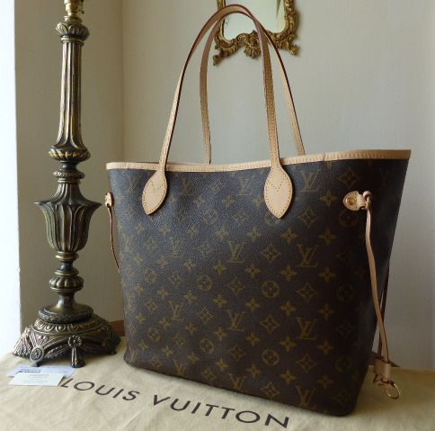 Louis Vuitton Neverfull MM Monogram - As New