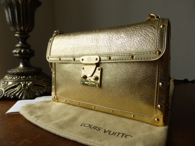 Louis Vuitton L'Aimable in Gold Suhali Goat Leather