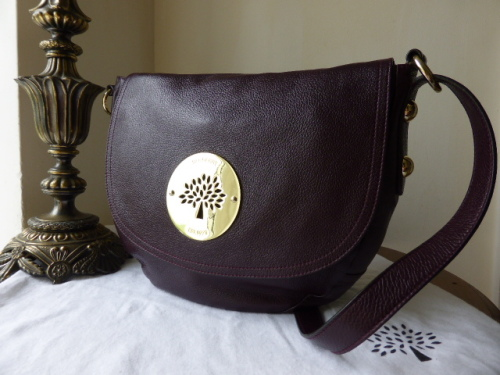 Mulberry Daria Satchel in Oxblood Spongy Leather