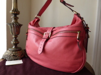 Mulberry Mabel Hobo in Lipstick Pink Soft Spongy Leather (Sub)