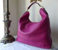Mulberry Effie Hobo in Mulberry Pink Spongy Pebbled Leather