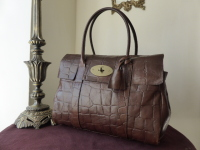Mulberry Bayswater in Chocolate Congo Leather
