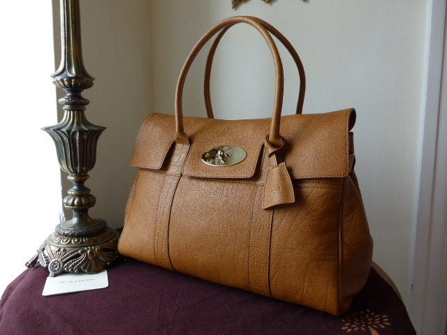 Mulberry Bayswater in Fudge Buffalo Shine Leather