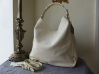 Mulberry Evelina Hobo in Marshmallow Lizard Print Leather (Sub) - New*