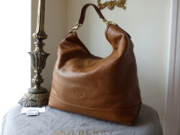 Mulberry Effie Hobo in Oak Spongy Pebbled Leather - As New*