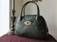 Mulberry Rachel in Bottle Green Natural Vegetable Tanned Leather
