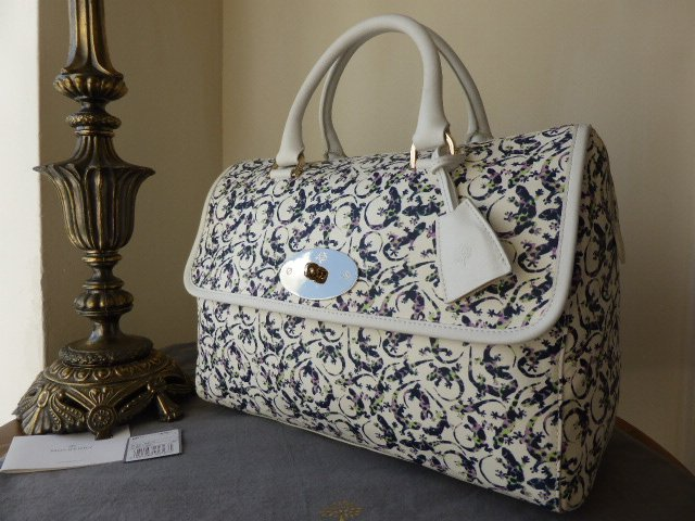 Mulberry Del Rey (Large) in Mini Gecko Print - New*