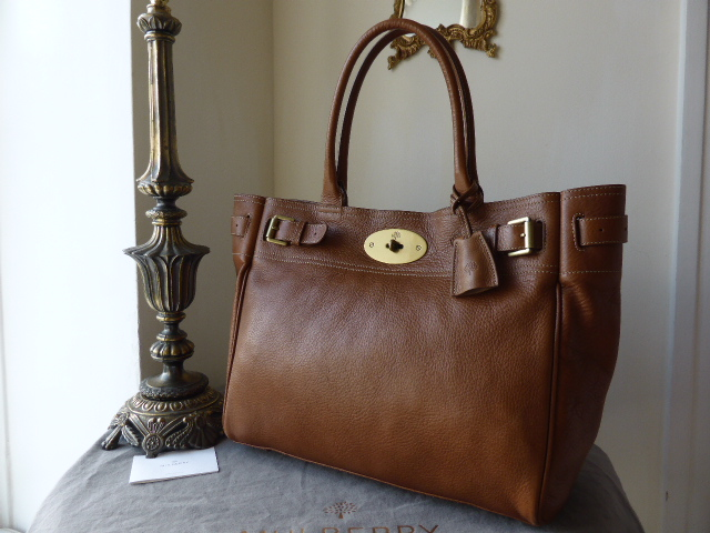 Mulberry Bayswater Tote in Oak Natural Leather ref PW