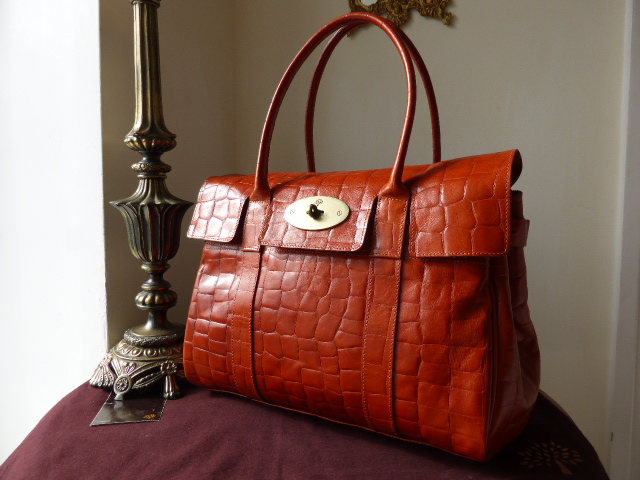 Mulberry Bayswater Special in Chestnut Congo Leather