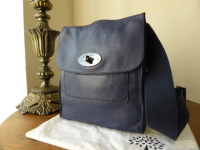 Mulberry Antony (Small) Messenger in Ink Soft Spongy Leather