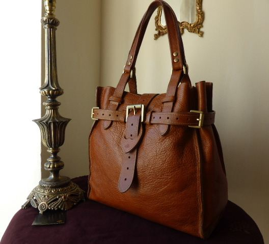 Mulberry Elgin in Oak Darwin Leather