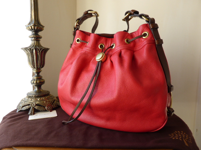 Mulberry Sofia Hobo in Watermelon Pebbled Leather