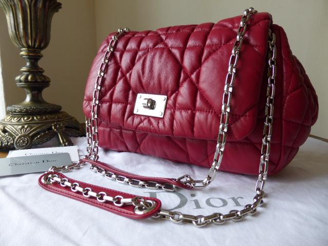 Dior Milly La Forêt Bag in Carmine Lambskin