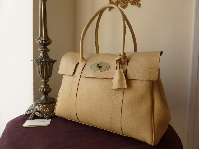 Mulberry Bayswater in Vanilla Darwin Leather