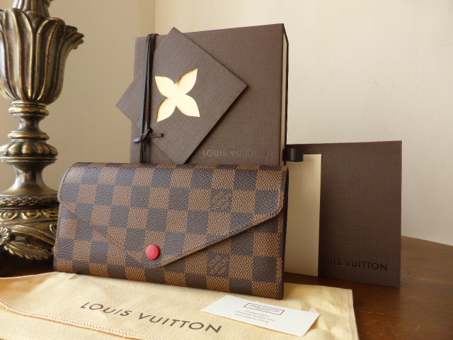 Louis Vuitton Josephine Wallet in Damier Ebene - New
