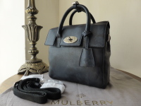 Mulberry Mini Cara Delevingne Bag in Camo Printed Blue Goat - New