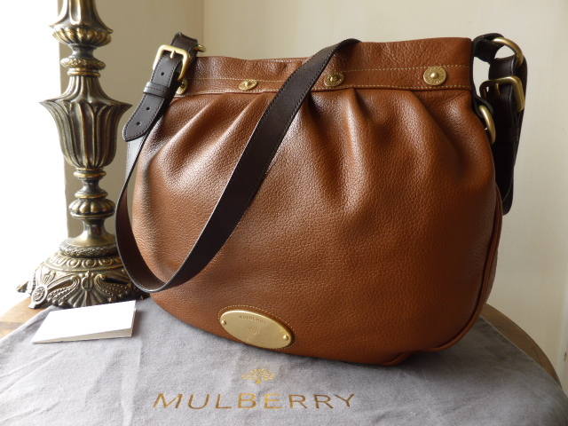 Mulberry Mitzy Messenger in Oak Pebbled Leather