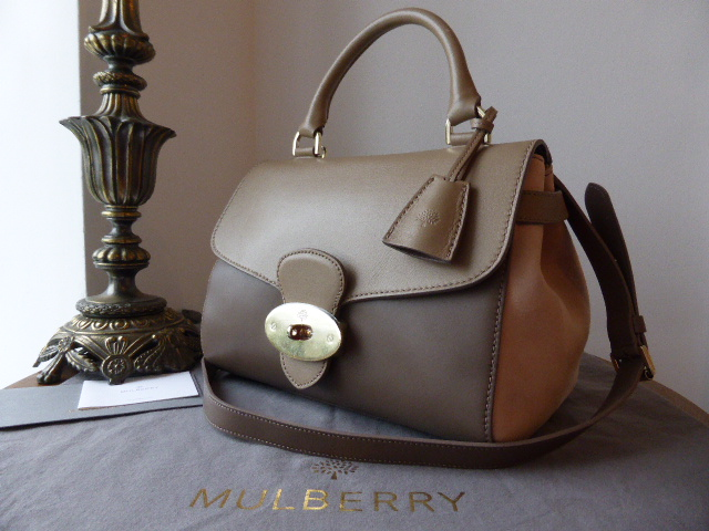 Mulberry Primrose in Taupe   Mushroom Grey Soft Tan with Ballet Pink Suede 2cd662cf937b0
