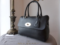 Mulberry Del Rey (Large) in Black Glossy Goat