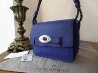 Mulberry Bayswater Small Shoulder Bag in Indigo Polished Buffalo